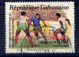 GABON  - 674° - COUPE DU MONDE DE FOOTBALL - Gabun (1960-...)