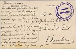 36637. Postal T'ZENIN (Marruecos Español) 1925. Franquicia Regimiento Dragones NUMANCIA. Militar - Spanisch-Marokko