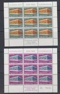 Europa Cept 1969 Yugoslavia 2v 2 Sheetlets TYPE II ** Mnh (47814) - Europa-CEPT