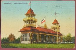 "1910 Magdeburg,Rennwiesen Im Herrenkrug ,,Pavillon"" - Monuments"