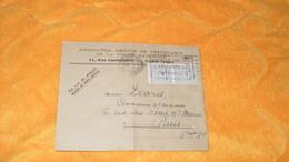 ENVELOPPE ANCIENNE DE 1945.. / ASSOCIATION AMICALE DE PREVOYANCE DE LA POLICE NATIONALE PARIS VIIIe ..CACHET + TIMBRES - Marcophilie (Lettres)