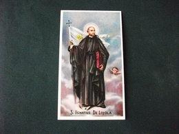 SANTINO HOLY PICTURE SANT'IGNAZIO DI LOJOLA  2/317 - Religión & Esoterismo