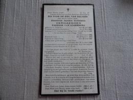 Alsemberg Pastoor Overleden 1920 - Images Religieuses