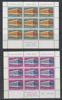 Europa Cept 1969 Yugoslavia 2v 2 Sheetlets TYPE II ** Mnh (47816) - Europa-CEPT