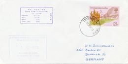 TRISTAN DA CUNHA - 19 JUN 73  ,  GOUGH ISLAND  Weather Office - Tristan Da Cunha