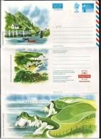 Gran Bretagna/Great Britain: Intero, Stationery, Entiers, Costa Inglese, Coastline, Côte Anglaise - Geography
