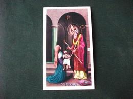 SANTINO HOLY PICTURE SAN BIAGIO VESCOVO E MARTIRE   2/223 - Religión & Esoterismo