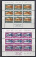 Europa Cept 1969 Yugoslavia 2v 2 Sheetlets TYPE II ** Mnh (47817) - Europa-CEPT