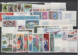 Gabon Année Complète 1967 Neufs**  - PA 52/64 - BF 6/8 - Gabun (1960-...)