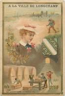 CHROMOS - A LA VILLE DE MOGCHAMP - Old Paper