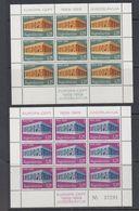 Europa Cept 1969 Yugoslavia 2v 2 Sheetlets TYPE I ** Mnh (47818) - Europa-CEPT