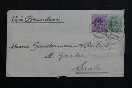 INDE - Enveloppe De Madras Pour Saale En 1909, Affranchissement Plaisant - L 61276 - India (...-1947)