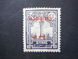 Timbre Syrie Française Alaouites - 0.10 P - Alaouites (1923-1930)