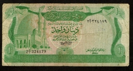 Libië / Libye / Libya / Central Bank Of Libya / One Dinar / 1980-1981 / 2 C-1 324179 / 2 Scans - Libië