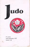 REVUE - JUDO - 1957 - - Artes Marciales