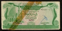 Libië / Libye / Libya / Central Bank Of Libya / One Dinar / 1980-1981 / 2 C-6 757008 / 2 Scans - Libië