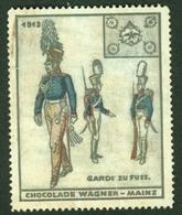 """Mainz Mayence  ~1913 """" Chocolade Wagner """" Vignette Cinderella Reklamemarke - Erinnophilie"""