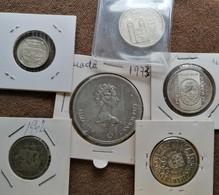 Lote Moedas De Prata / Silver Coins - Vrac - Monnaies
