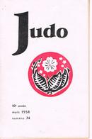 REVUE - JUDO - 1958 - - Artes Marciales