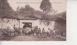 39 SALINS LES BAINS  -  Entrée Du Fort Au Pont-Levis  - - France