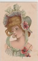 Cartolina- Postcard /non  Viaggiata - Unsent /  Donnina - Vrouwen
