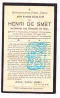 DP Henri De Smet ° Ruiselede 1854 † 1930 X Romanie De Mey - Images Religieuses