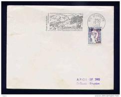 FLAMME LA REUNION SAINTJOSEPH DES PAYSAGES INOUBLIABLES GORGES DE LA RIVIERE DES REMPARTS - Reunion Island (1852-1975)