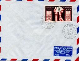 Saint Pierre Et Miquelon Poste Aérienne PA 26 1er Jour Constitution - FDC