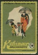 "Österreich Budweis České Budějovice ~1913 "" Kohinoor Druckknöpfe "" Vignette Cinderella Reklamemarke - Cinderellas"