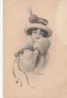 Cartolina- Postcard / Viaggiata - Sent /  Donnina - Women