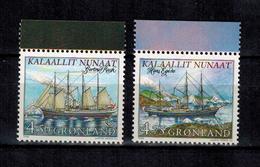 GRÖNLAND , Greenland - 1998 - ** , MNH , Postfrisch , Mi.Nr. 327 X - 328 X (aus MH) - Groenland