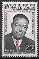 HAUTE VOLTA   -  1959  .  Y&T N° 70 *  Président Coulibaly. - Alto Volta (1958-1984)