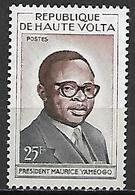 HAUTE VOLTA   -  1960  .  Y&T N° 89 * .  Président  Yameogo - Alto Volta (1958-1984)