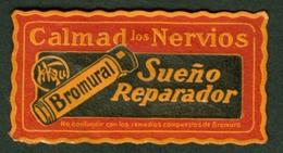 "Colombia America 1932 "" Bromural Sueno Reparador = Schlafmittel "" Vignette Cinderella Reklamemarke - Erinnophilie"