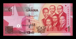 Ghana 1 Cedi 2013 Pick 37d SC UNC - Ghana
