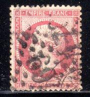 N° 24 (Napoléon Oblitération Mixte) COTE= + 60 € - 1862 Napoleon III