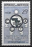 HAUTE VOLTA   -  1960  .  Y&T N° 90 * .   Commission De Coopération Du Sahara - Alto Volta (1958-1984)