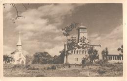 Congo Belge BOMA Ancienne Eglise En Fer Cathédrale Maison Procure Oude Kerk Carte Photo Fotokaart - Congo Belge - Autres