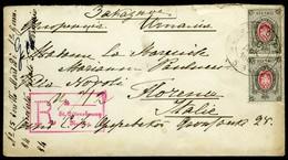 Russia. Sc #27. Envelope Sent Fo Firenze. VF. - 1857-1916 Empire