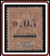 Côte D'Ivoire 1892-1912 - N° 18 (YT) N° 18 (AM) Neuf *. 2 Dents Courtes. - Neufs
