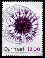 Denmark 2012  8.00kr. Minr.1715A) ( Lot L  3211 )   Autumn Flowers - Gebraucht