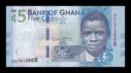 Ghana 5 Cedis 2017 (2018) Pick 44 SC UNC - Ghana