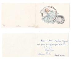 Faire-part De Naissance De Jean-Pierre Debesson, éd. Art-Chap N° 927 B, Bébé, Hochet - Birth & Baptism