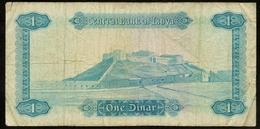 Libië / Libye / Libya / Central Bank Of Libya / One Dinar / 1 C-32 231342 / 2 Scans - Libya