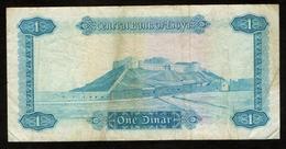 Libië / Libye / Libya / Central Bank Of Libya / One Dinar / 1 C-37 241122 / 2 Scans - Libië
