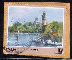 ITALIA REPUBBLICA ITALY REPUBLIC 2018 PROPAGANDA TURISTICA TOURISM GRADO B USATO USED OBLITERE' - 6. 1946-.. Repubblica