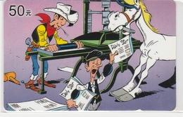 1525.  LUCKY LUKE - Comics