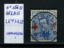Belgique Albert Croix-Rouge N° 156 O Relais Leysele ( Concours!) - 1915-1920 Albert I