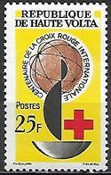 HAUTE VOLTA    -  1963  .  Y&T N°129 *.   Croix-rouge - Alto Volta (1958-1984)