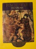 14397 -  Pinot Noir Du Valais Caves Imesch Sierre - Etiketten